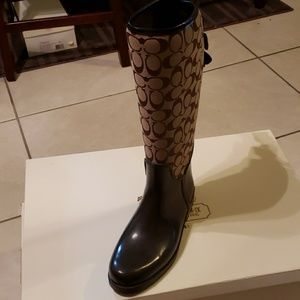 COPY - Coach rainboots